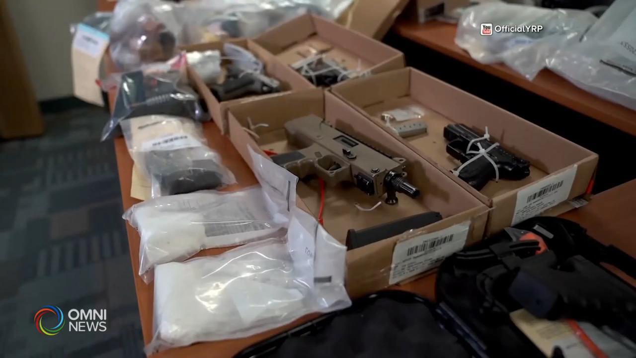 約克區警方瓦解槍械及毒品犯罪集團 — May 22, 2020 (ON)