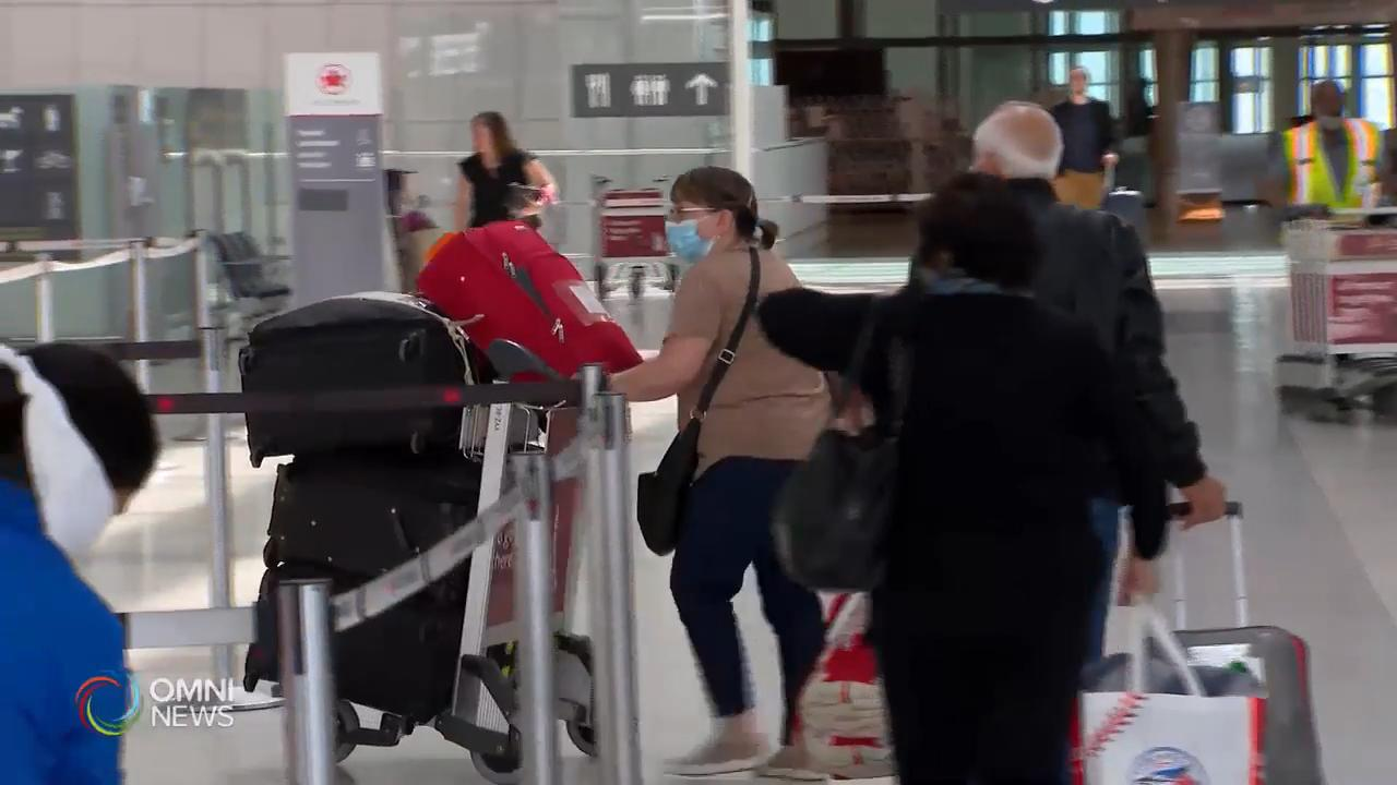 下周一起接送機人士不能進入機場大樓 — May 29, 2020 (ON)