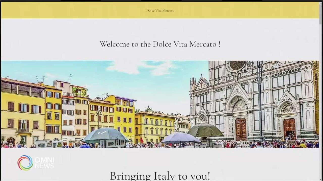 Dolce Vita Mercato, mercatino italiano virtuale