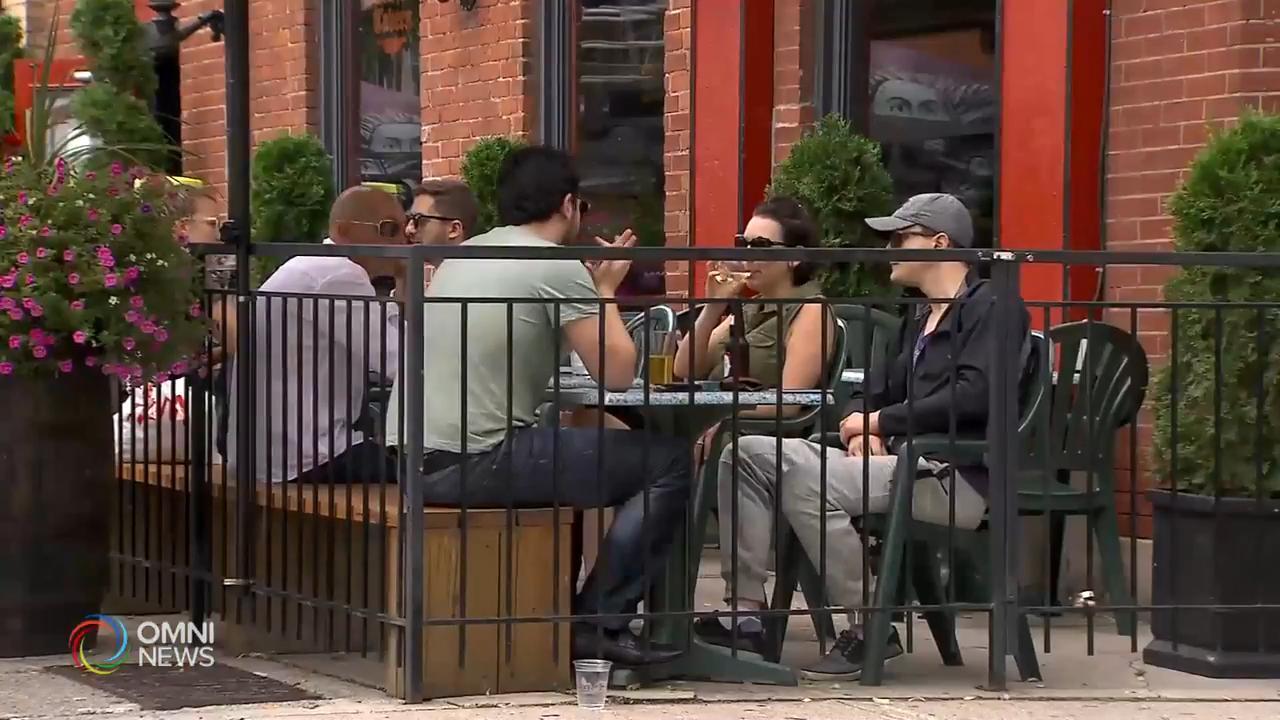 多倫多市幫助餐廳及酒吧擴大露天座位 — Jun 04, 2020 (ON)