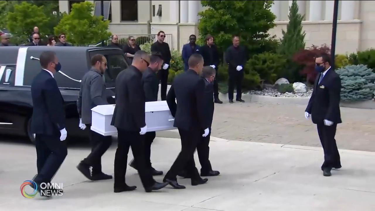 Funeral held for Karolina  Ciasullo & daughters