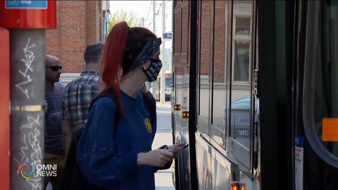 大多地区公交强制乘客戴口罩周四正式实施 - Jul 02, 2020