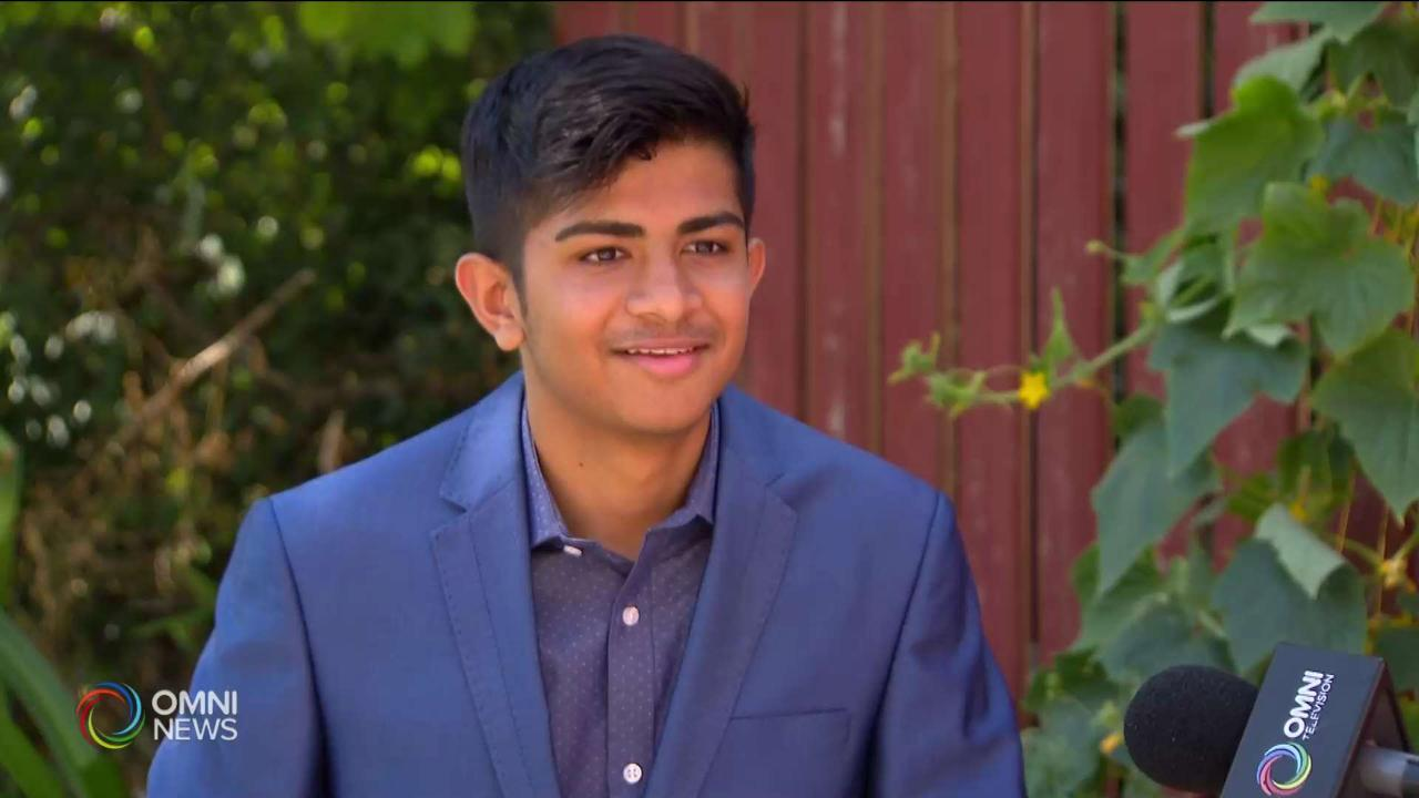 Toronto student Hitanshu named a top scholar