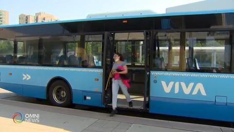 約克及皮爾區公車同樣強制戴口罩 — July 02, 2020 (ON)