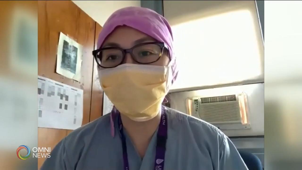 医护人员介绍正确戴口罩的常识和方法 - Jul 07, 2020