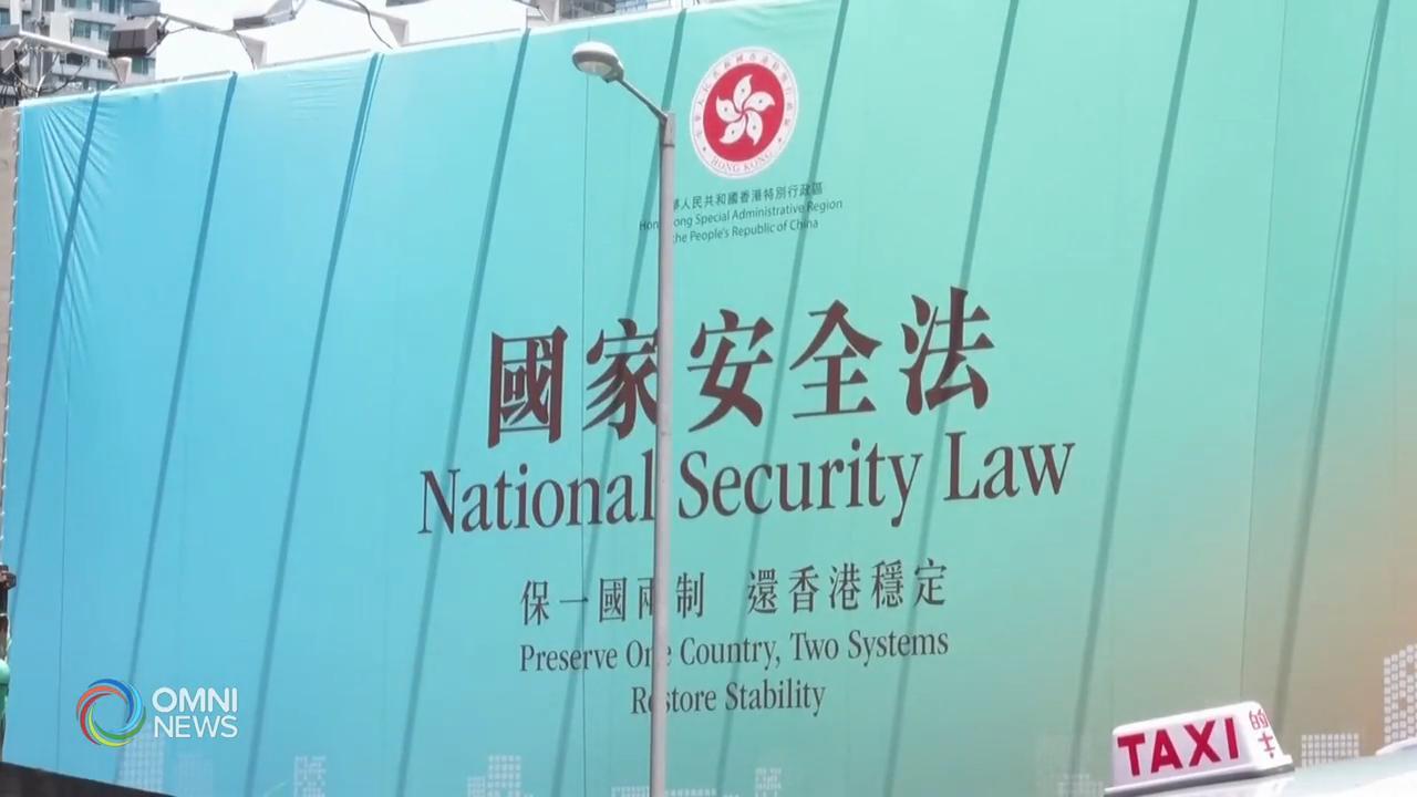 總理關注港區國安法, 暫停部份加港合作 — July 03, 2020 (ON)