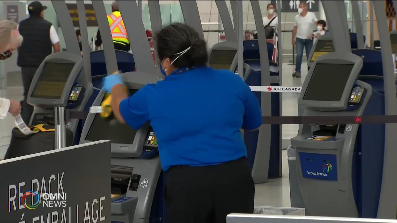 受疫情影響皮爾遜機場裁減五百職位 — July 14, 2020 (ON)