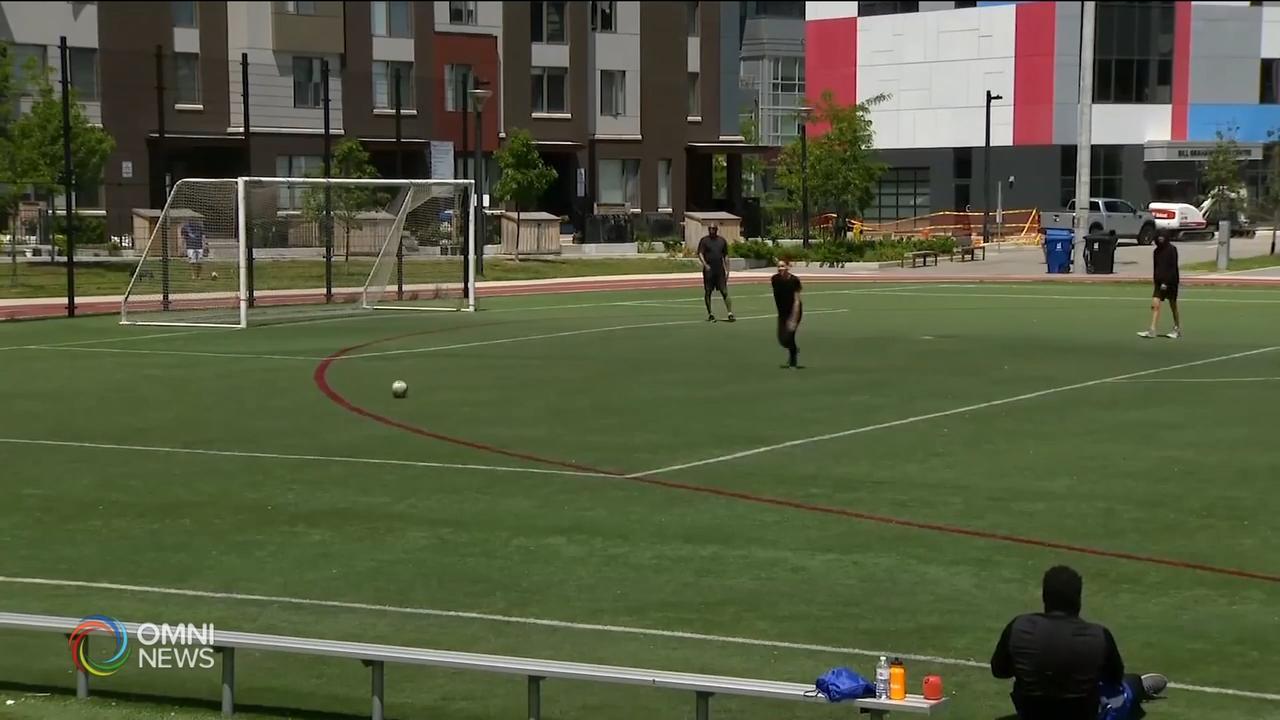 多伦多市开放户外运动场 - Jul 08, 2020