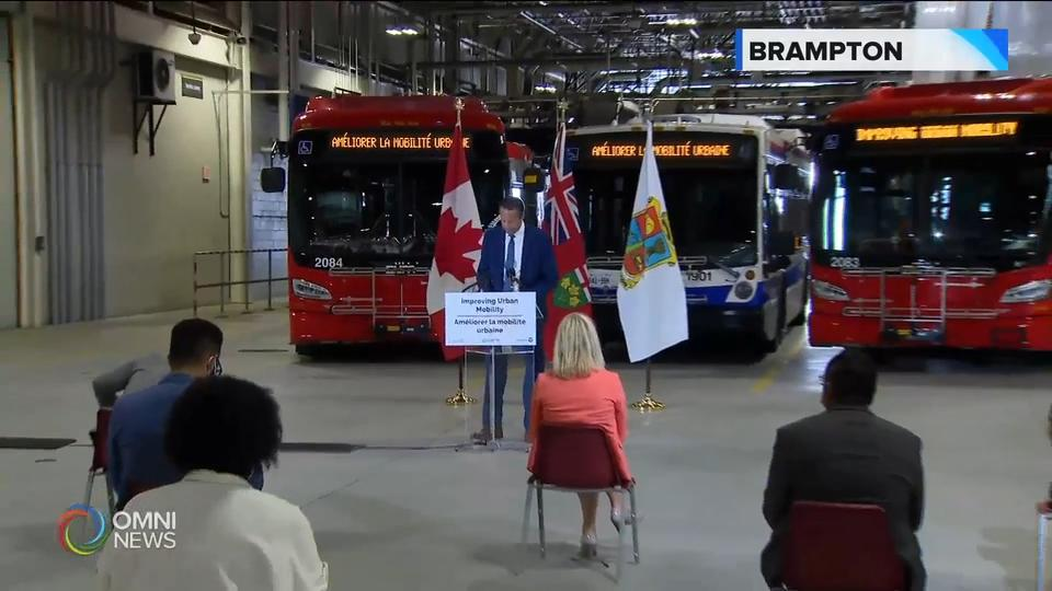 New $113 million investment in Brampton Transit
