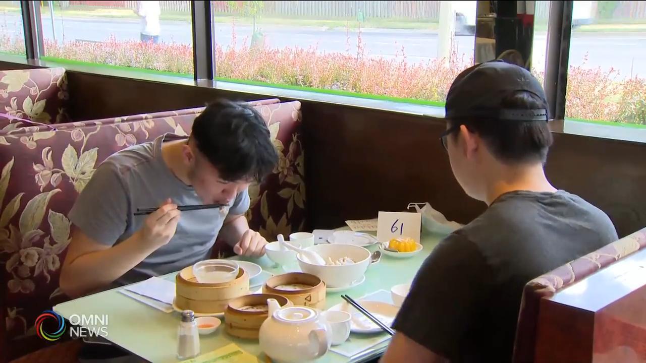 多倫多華人餐館首日重開堂食 — July 31, 2020 (ON)