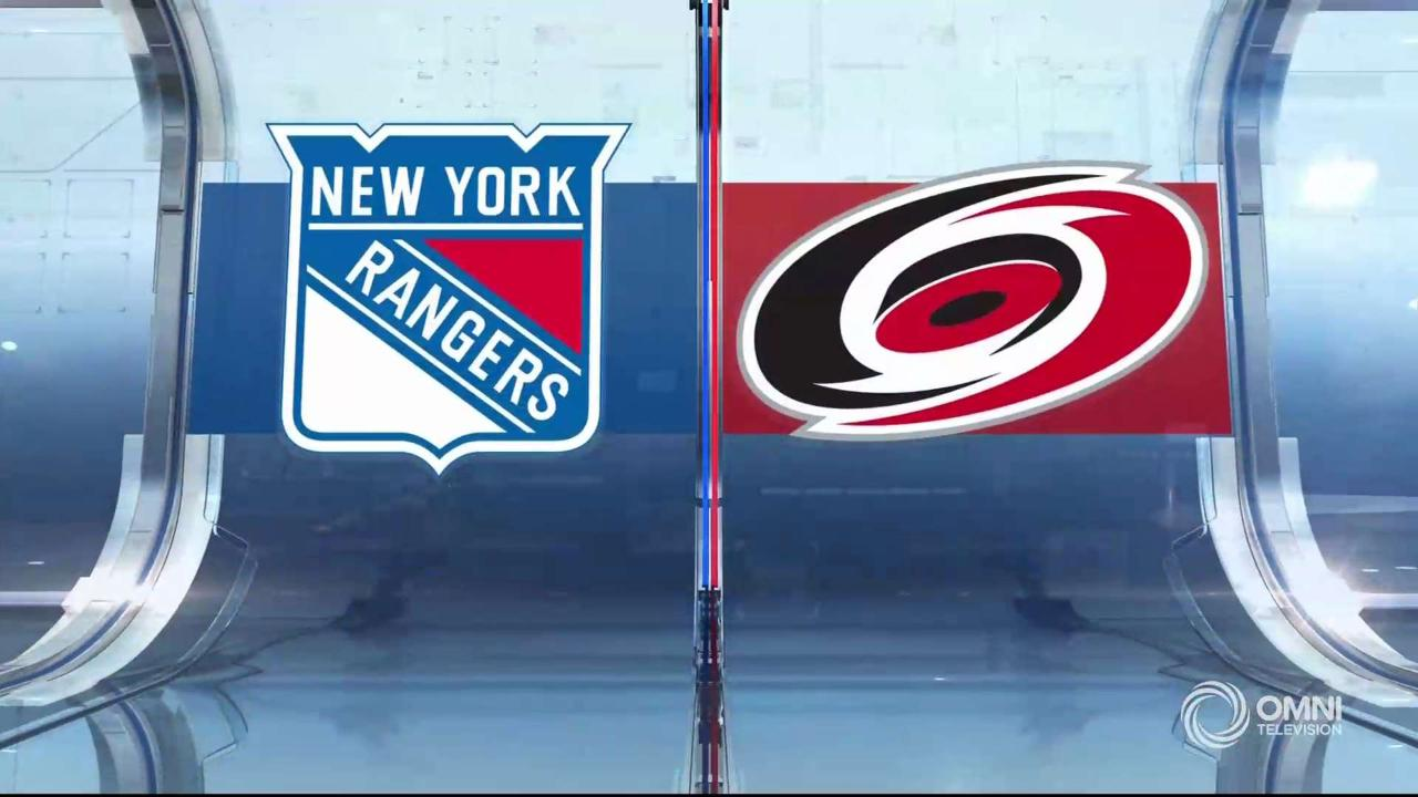 Highlights | Rangers vs. Hurricanes, August 1 2020