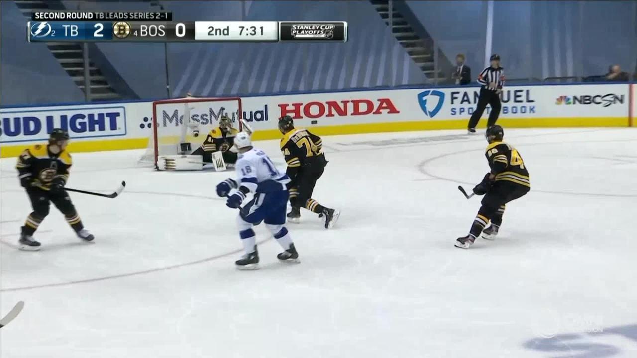 NHL Highlights | 2nd Round, Game 4 : Lightning vs. Bruins – Aug. 29, 2020