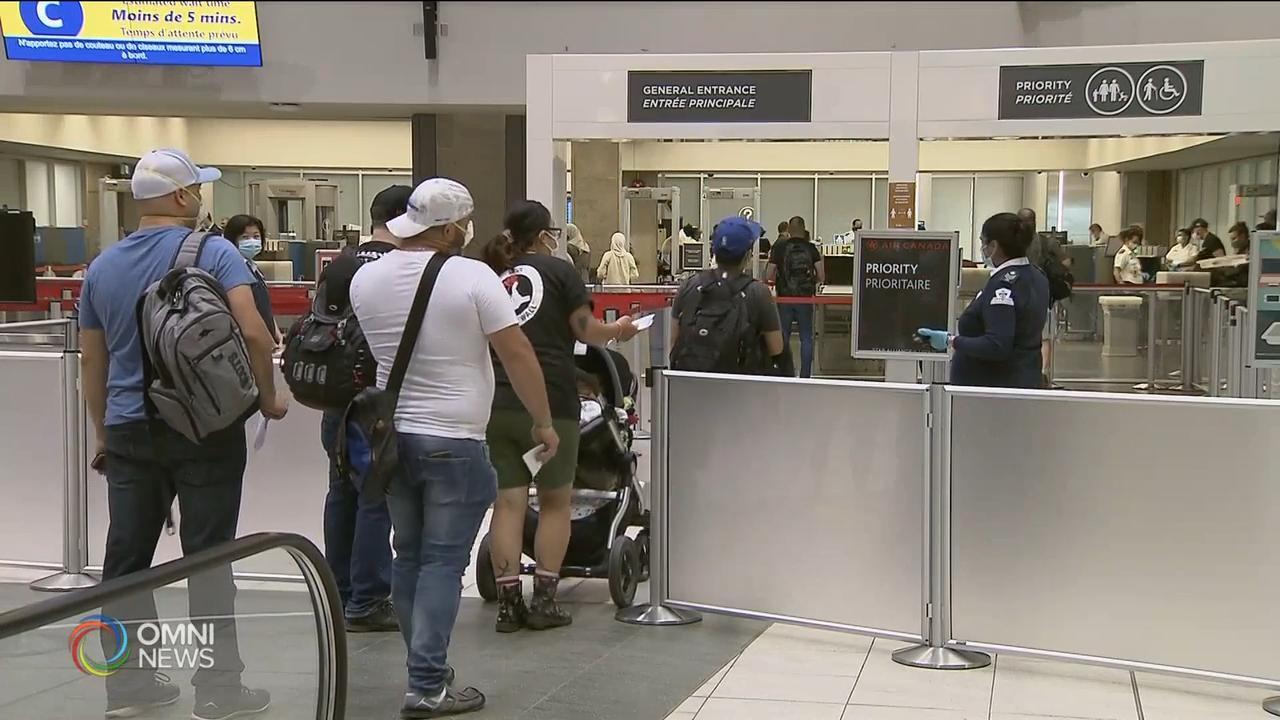 8班抵多伦多的国际航班 证实有人确诊 — Aug 11, 2020 (ON)