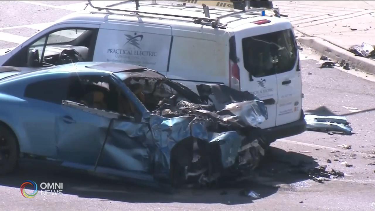 賓頓巿嚴重車禍男子被加控多項罪名 — Sep 18, 2020 (ON)