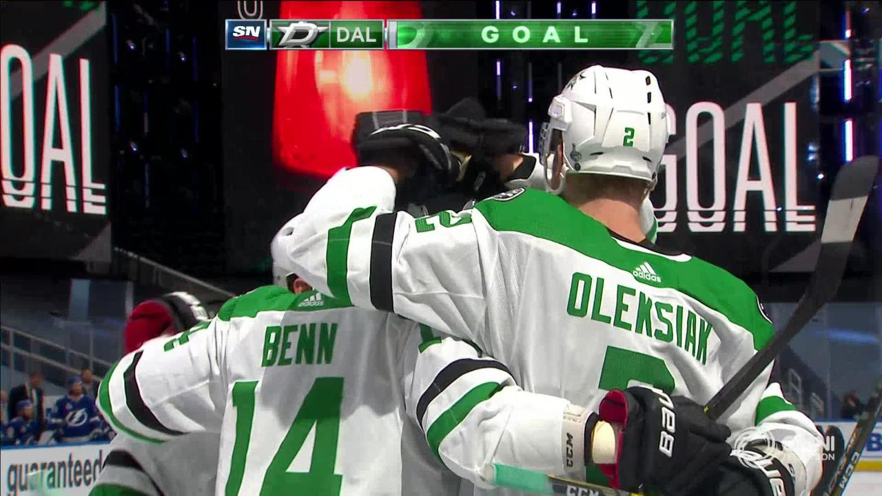 Oleksiak jumps up to give Dallas the 2-1 Lead