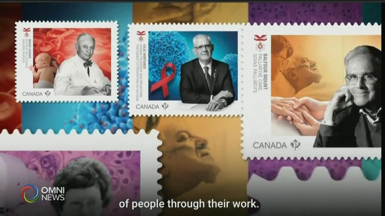 邮政局发行医疗先锋人物纪念邮票 - Sep 17, 2020