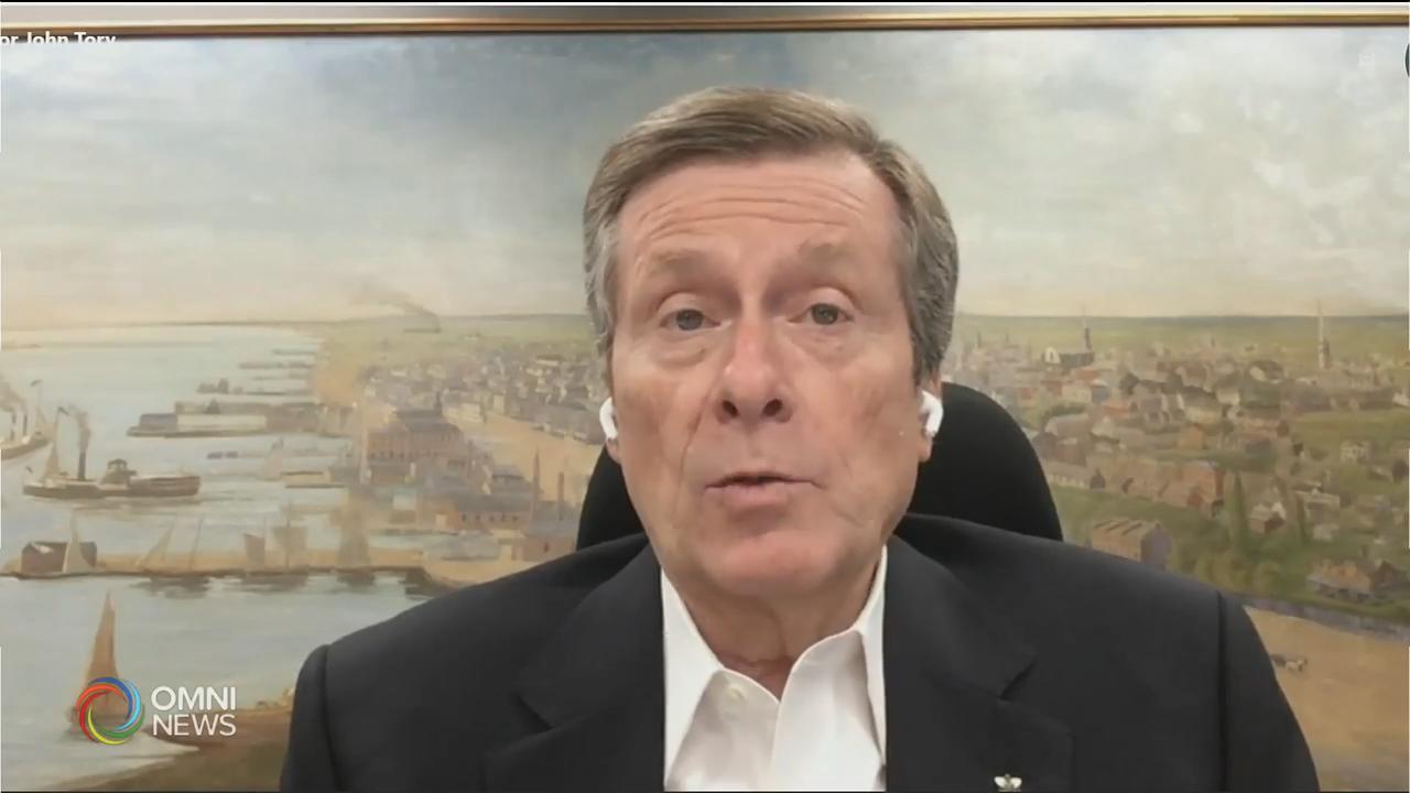 多倫多市長莊德利支持新限聚令 — Sep 17, 2020 (ON)