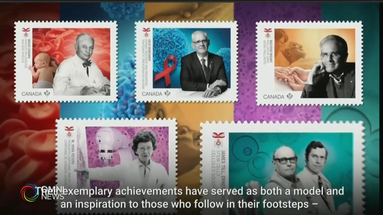 郵務處發行醫療先鋒系列紀念郵票 — Sep 18, 2020 (ON)