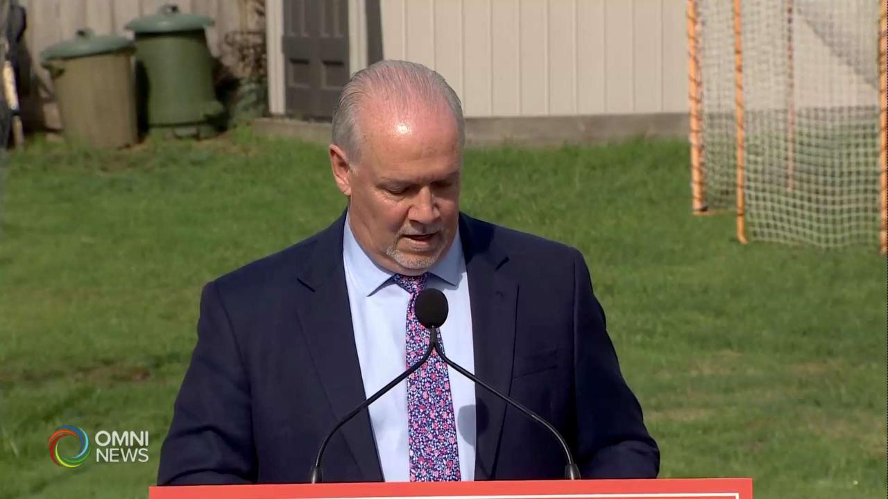 B.C. Snap Election Called