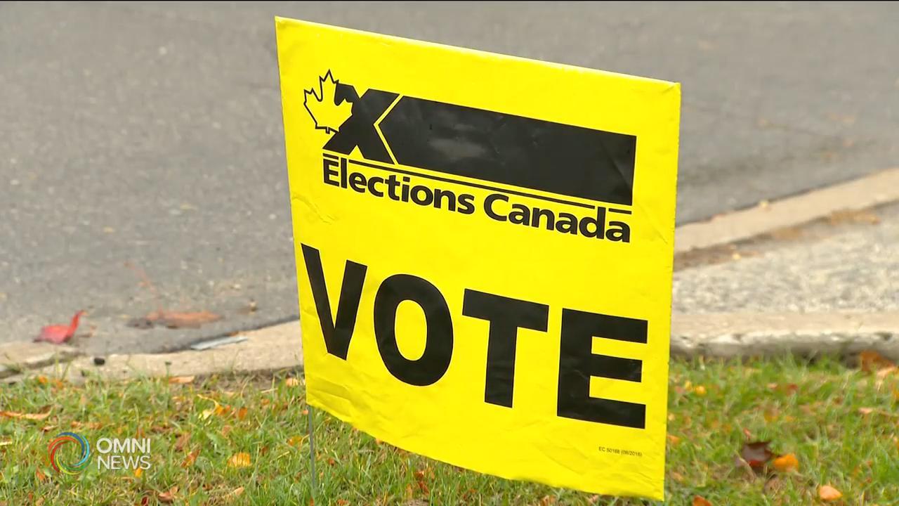 多市兩個聯邦國會議席今天進行補選 — Oct 26, 2020 (ON)