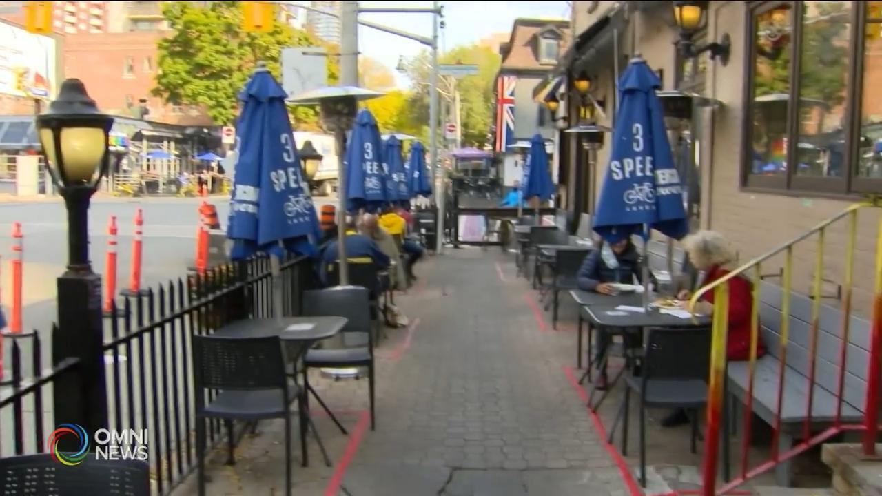 多市允许餐馆在冬季继续户外营业- Oct 28, 2020