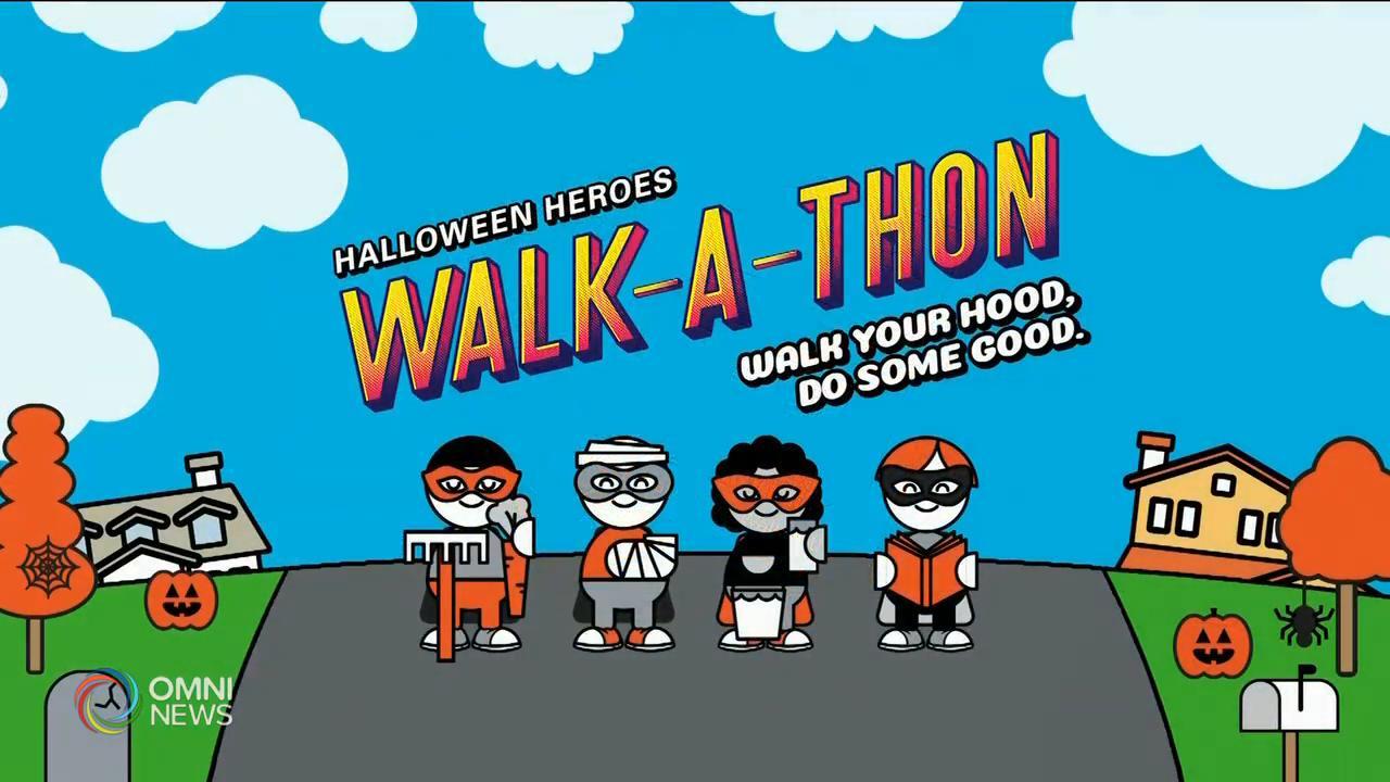 萬聖節網上步行 為聯合國兒童基金會籌款 — Oct 21, 2020 (ON)