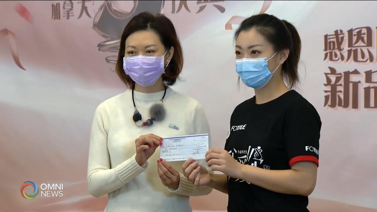 华人家电公司捐款帮助多伦多病童医院 - Oct 22, 2020
