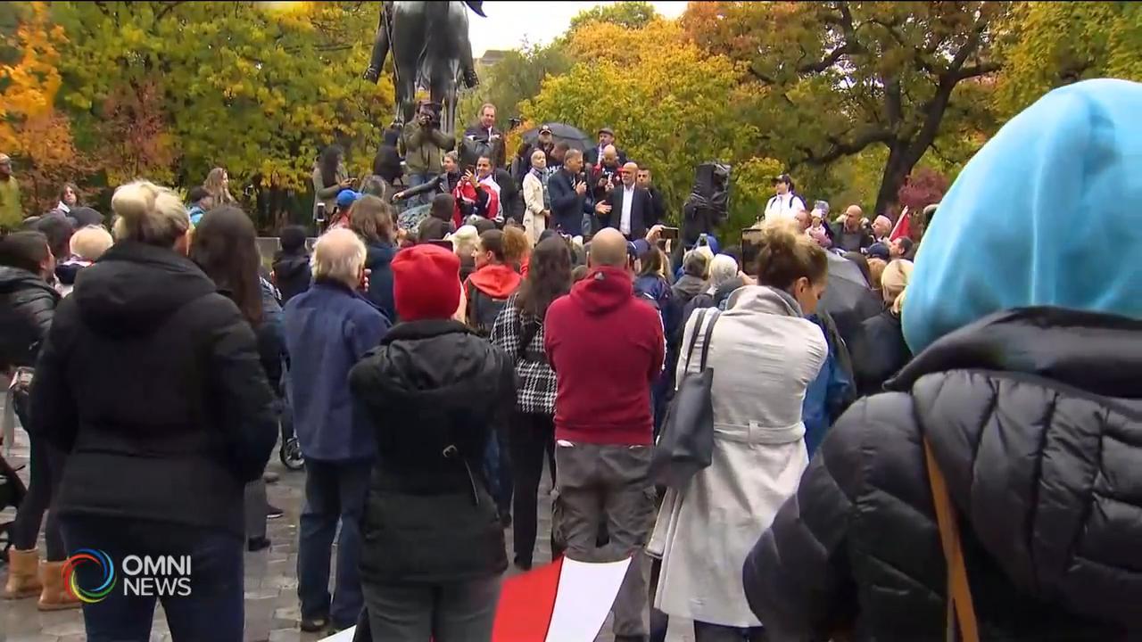 幾十人參與反省府防疫禁令示威 — Oct 21, 2020 (ON)