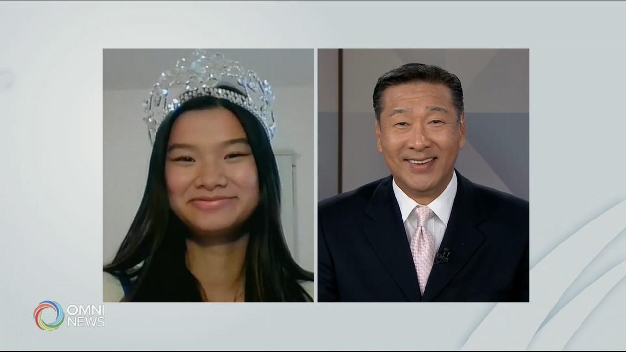 专访加拿大青少年选美皇后邵亦心- Oct 23, 2020