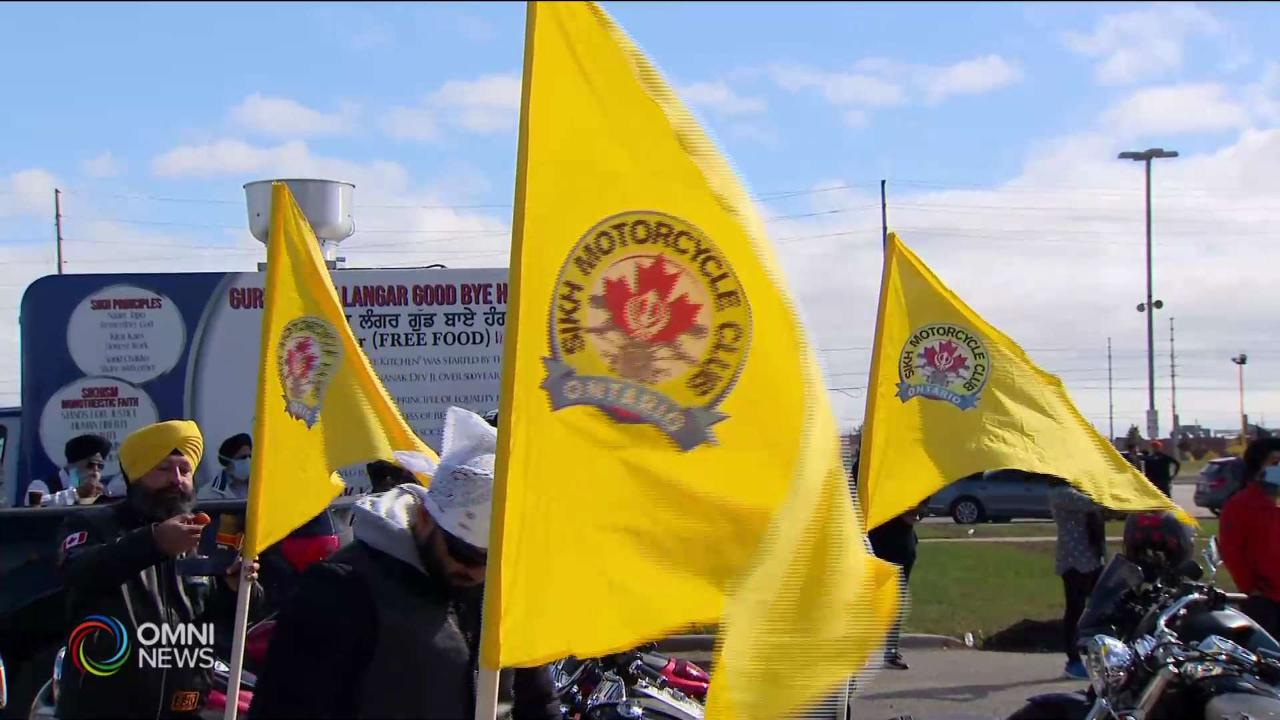 Farmers Rally organized by  Sikh Motorcycle Club