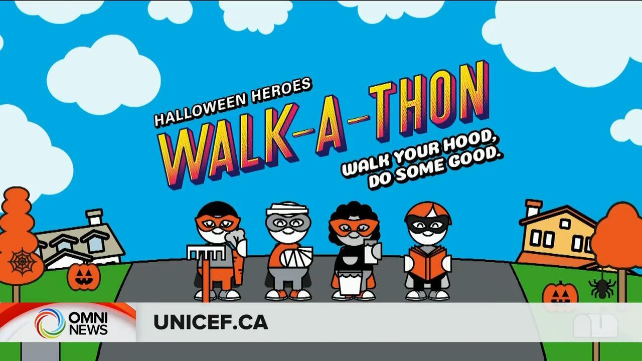 联合国儿童基金万圣节网上筹款- Oct 21, 2020