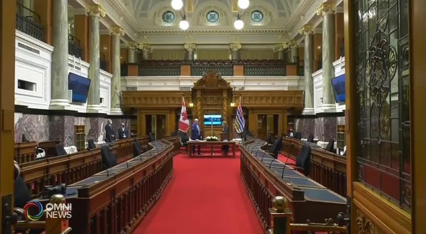 新民主黨省議員 宣誓就職 (BC) – NOV 24, 2020