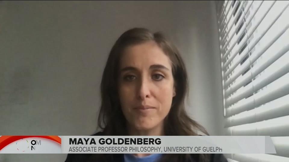 PROFESSOR MAYA GOLDENBERG INTERVIEW