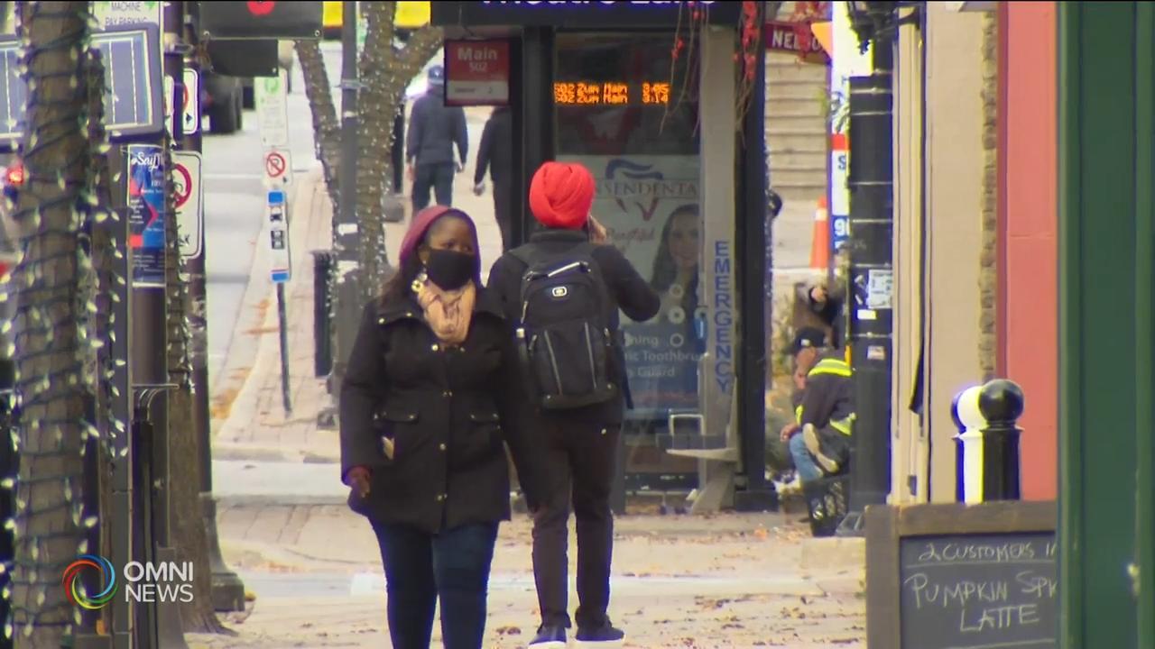 皮尔区卫生官呼吁公众减少外出- Nov 25, 2020