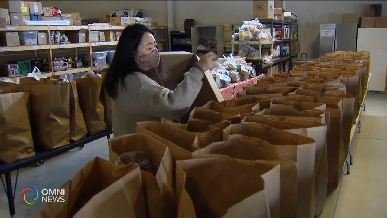 華諮處食物銀行,向有需要家庭送上愛心 — Dec 04, 2020 (ON)