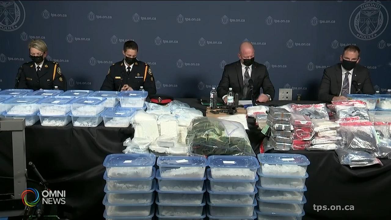 多市警队搜获千多万元毒品 拘捕两人 — Dec 03, 2020 (ON)
