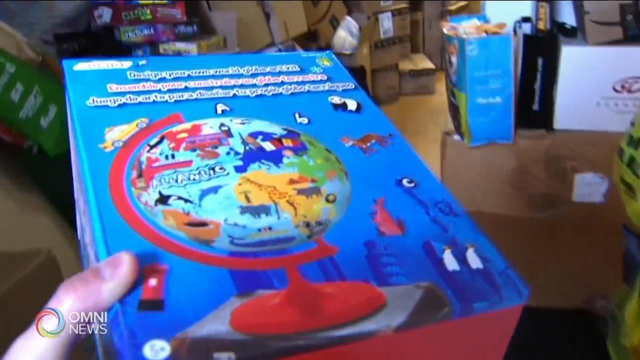 病童筹集玩具送赠其他年幼病人 — Dec 02, 2020 (ON)
