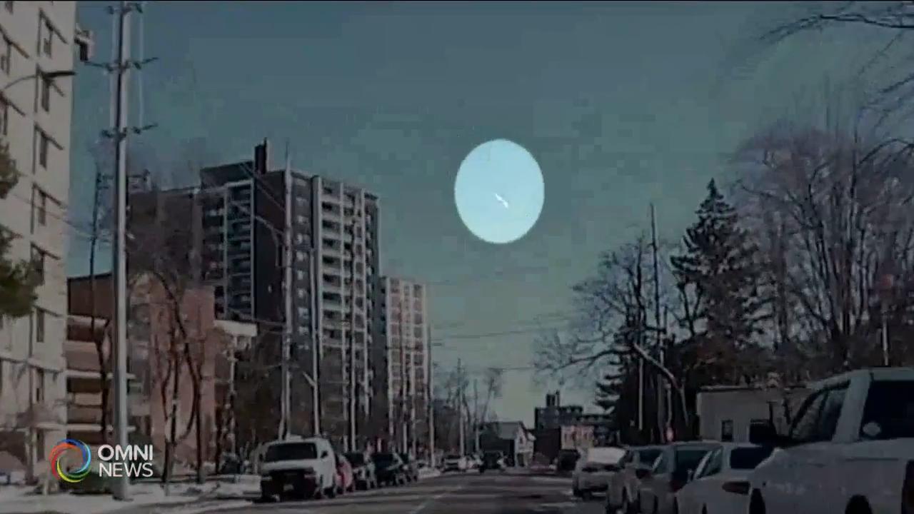 日间也能目睹流星 — Dec 03, 2020 (ON)