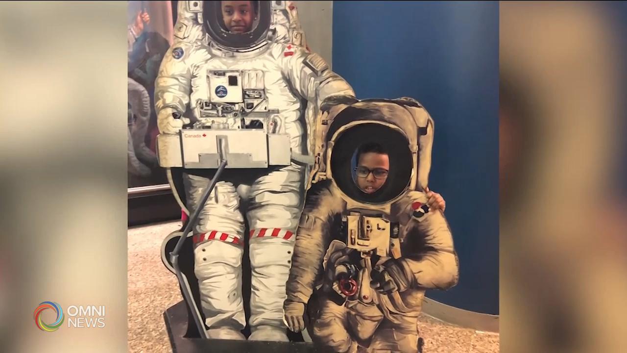 多倫多男童與國際太空站太空人對話 — Jan 15, 2021 (ON)