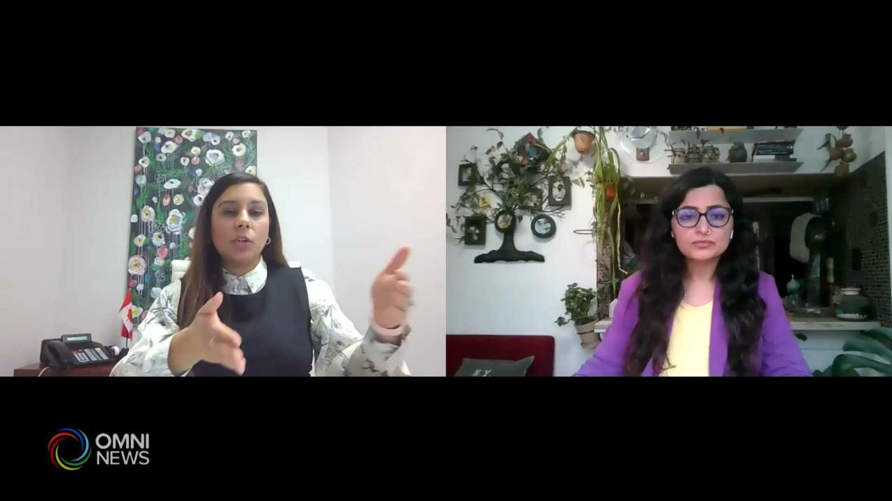 Intw with MP Ruby Sahota regarding Tax Changes 2021