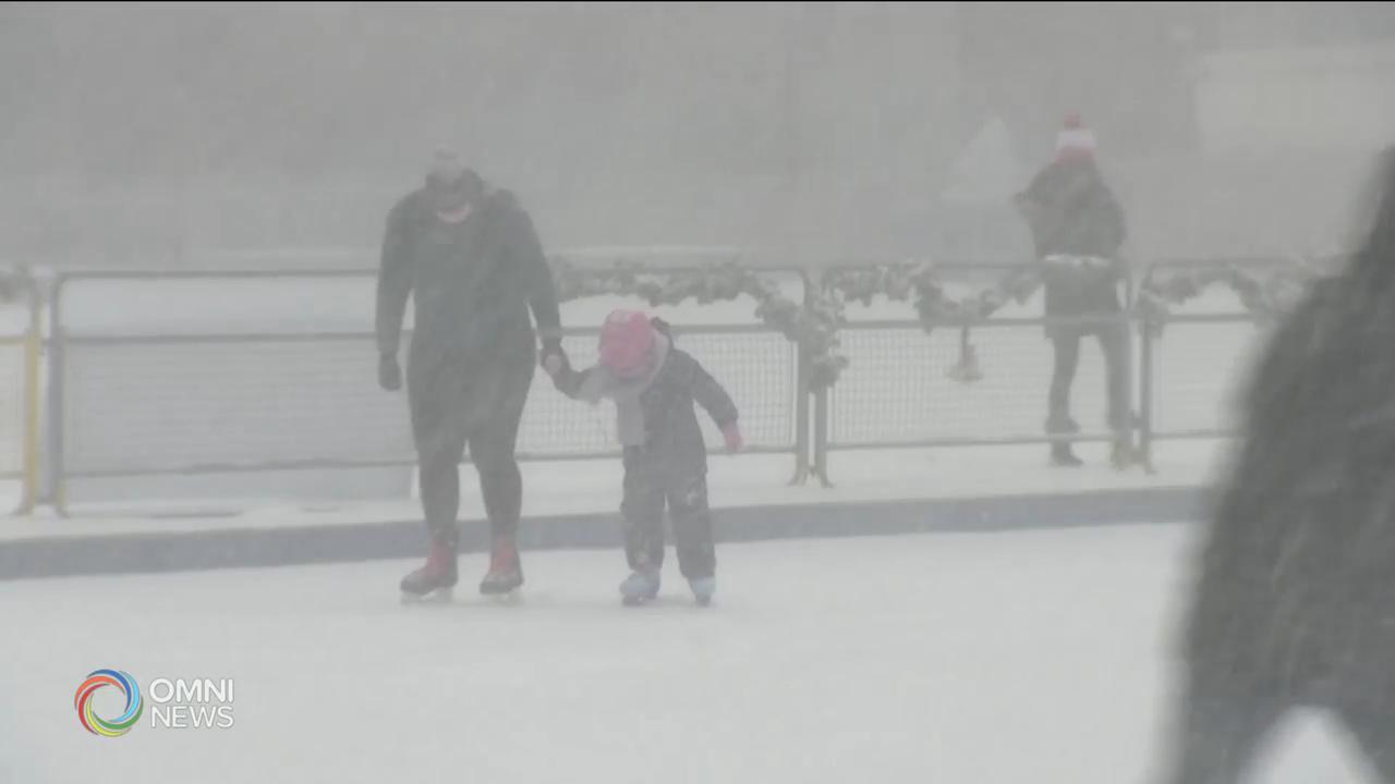 南安省迎接今年首場主要降雪 — Jan 26, 2021 (ON)