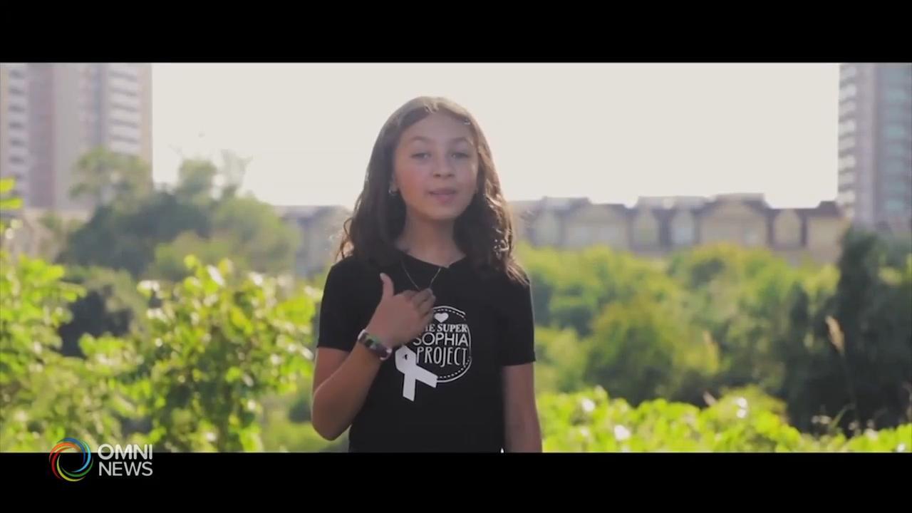 10岁小女孩Sofia为病童传递希望和爱 - Jan 13, 2021