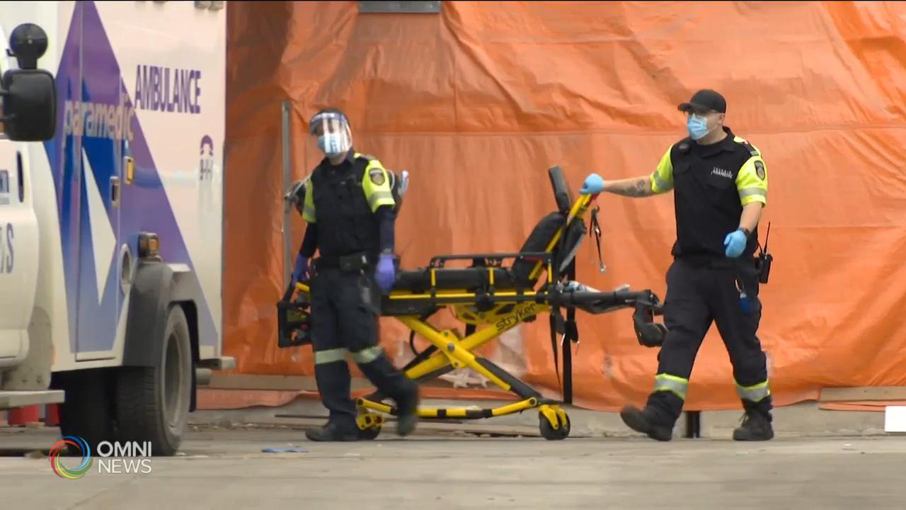 面對疫情, 多倫多緊急救護人員人手不足 — Jan 15, 2021 (ON)